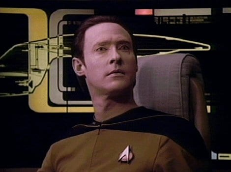 Commander Data Star Trek